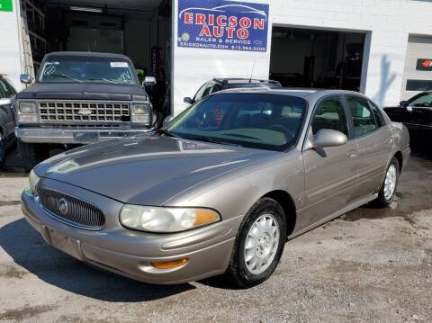 2002 Buick LeSabre for sale at Ericson Auto in Ankeny IA