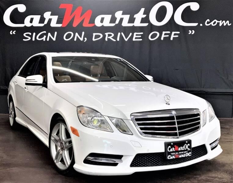 2013 Mercedes-Benz E-Class for sale at CarMart OC in Costa Mesa CA
