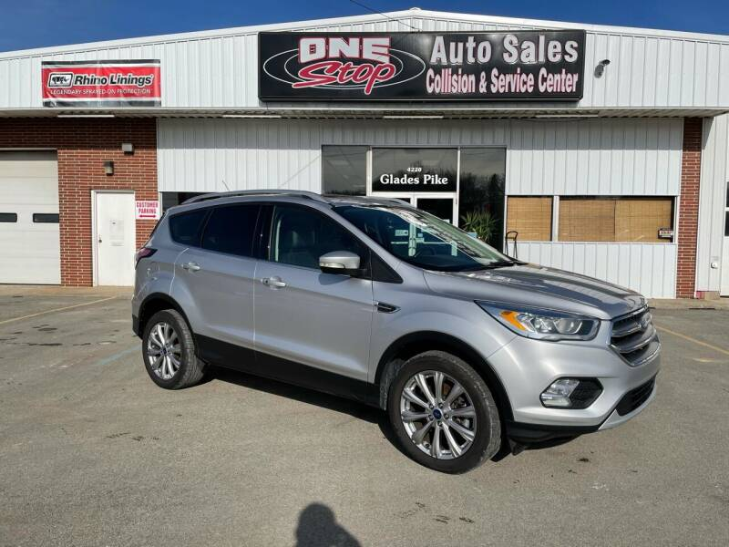 2017 Ford Escape for sale at One Stop Auto Sales, Collision & Service Center in Somerset PA