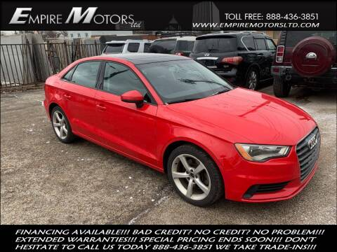 2015 Audi A3 for sale at Empire Motors LTD in Cleveland OH