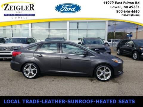 2015 Ford Focus for sale at Zeigler Ford of Plainwell- michael davis in Plainwell MI