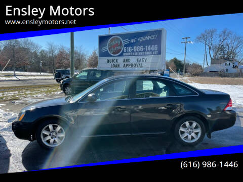 2007 Mercury Montego for sale at Ensley Motors in Allendale MI