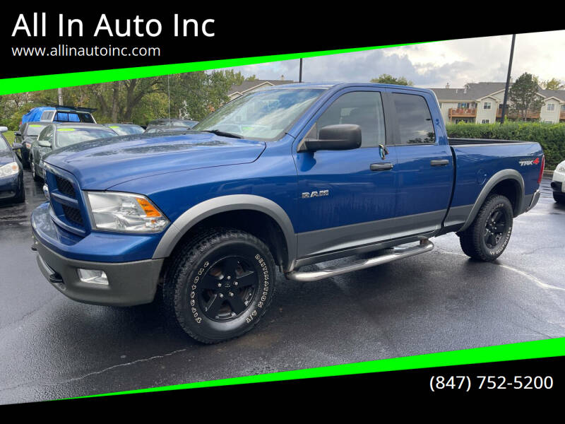 2010 Dodge Ram Pickup 1500 for sale at All In Auto Inc in Palatine IL
