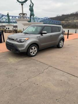 2016 Kia Soul for sale at Greenup Avenue Auto Sales LLC in Ashland KY