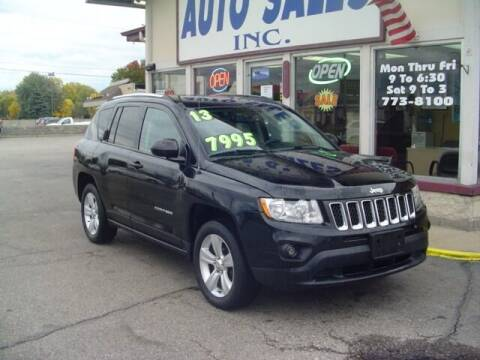 2013 Jeep Compass for sale at G & L Auto Sales Inc in Roseville MI