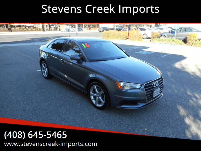 2016 Audi A3 for sale at Stevens Creek Imports in San Jose CA