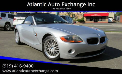 2004 BMW Z4 for sale at Atlantic Auto Exchange Inc in Durham NC