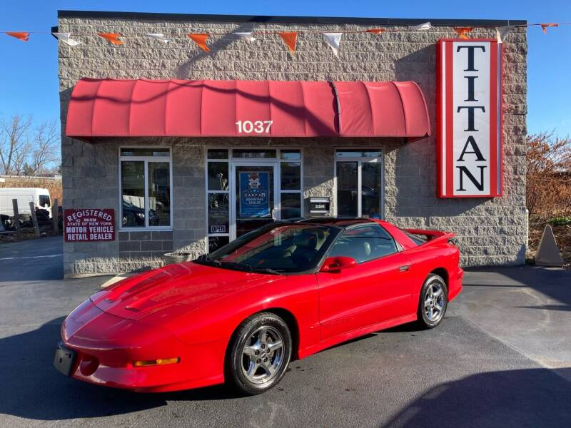 1997 Pontiac Firebird for sale at Titan Auto Sales LLC in Albany NY