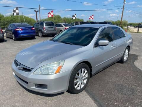 2007 Honda Accord for sale at Silver Auto Partners in San Antonio TX