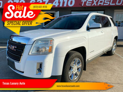 2010 GMC Terrain for sale at Texas Luxury Auto in Cedar Hill TX