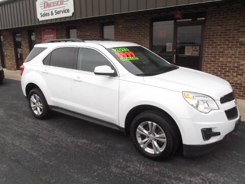 2013 Chevrolet Equinox for sale at Dietsch Sales & Svc Inc in Edgerton OH