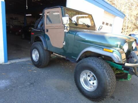 1979 Jeep CJ-5 for sale at Greg's Auto Sales in Dunellen NJ