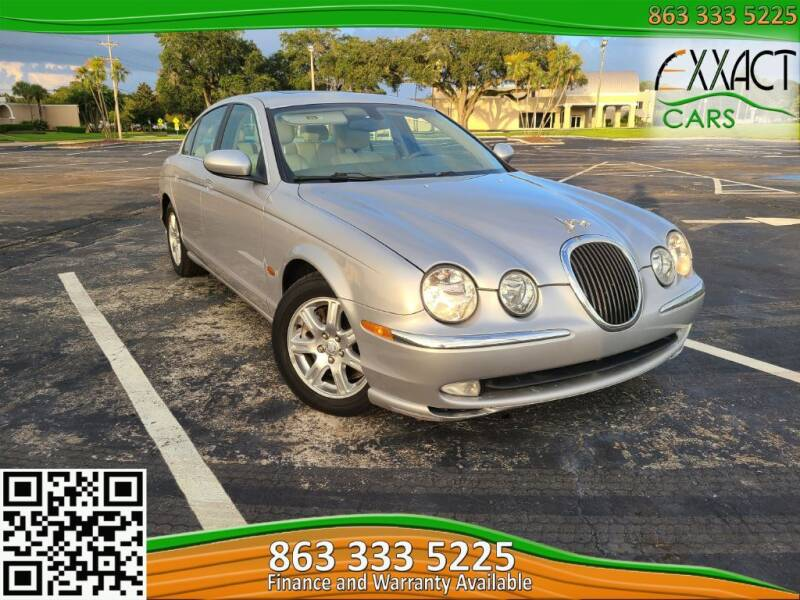 2003 Jaguar S-Type for sale at Exxact Cars in Lakeland FL