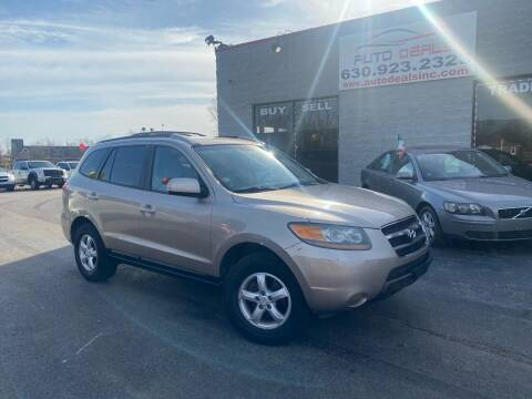 2007 Hyundai Santa Fe for sale at Auto Deals in Roselle IL