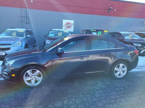 2015 Chevrolet Cruze for sale at Stach Auto in Edgerton WI