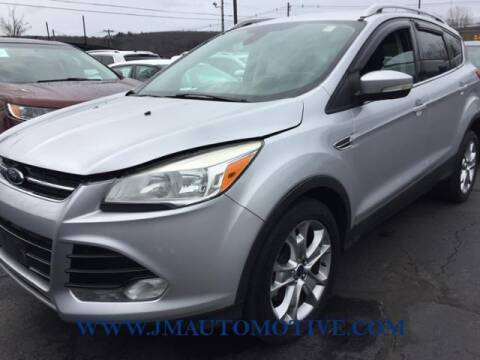2014 Ford Escape for sale at J & M Automotive in Naugatuck CT