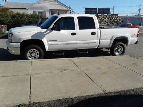 2006 Chevrolet Silverado 2500HD for sale at Nelsons Auto Specialists in New Bedford MA