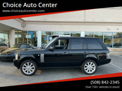 2008 Land Rover Range Rover for sale at Choice Auto Center in Shrewsbury MA