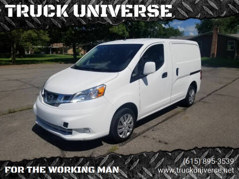 2017 Nissan NV200 for sale at TRUCK UNIVERSE in Murfreesboro TN