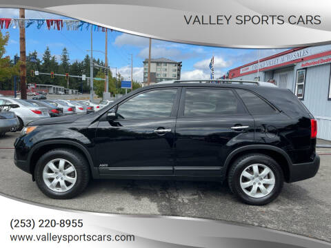 2011 Kia Sorento for sale at Valley Sports Cars in Des Moines WA