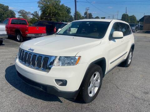 2012 Jeep Grand Cherokee for sale at Brewster Used Cars in Anderson SC