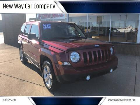 2015 Jeep Patriot for sale at New Way Car Company in Grand Rapids MI