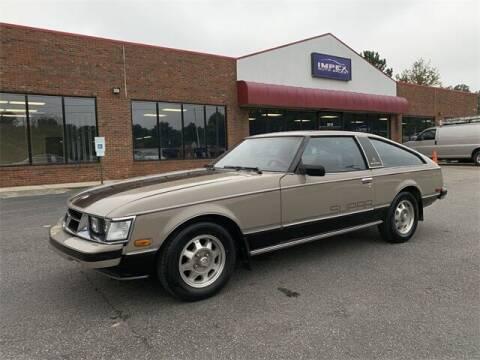 1980 Toyota Supra for sale at Impex Auto Sales in Greensboro NC