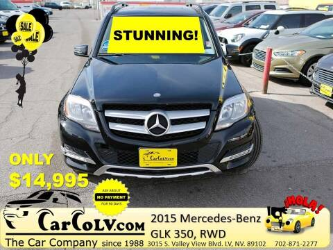 2015 Mercedes-Benz GLK for sale at The Car Company in Las Vegas NV