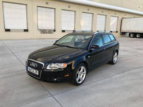 2007 Audi A4 for sale at EUROPEAN AUTO ALLIANCE LLC in Coral Springs FL
