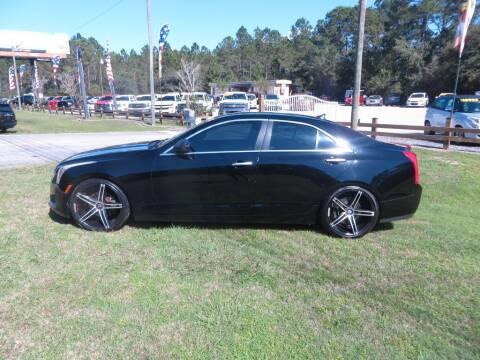2013 Cadillac ATS for sale at Ward's Motorsports in Pensacola FL