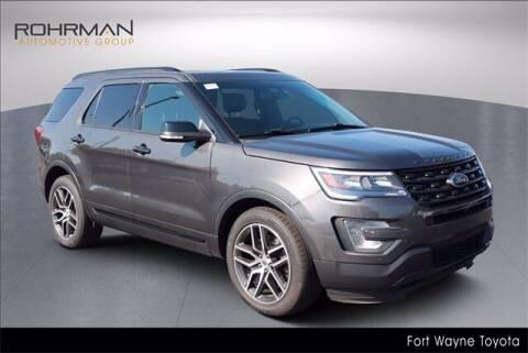 2016 Ford Explorer for sale at BOB ROHRMAN FORT WAYNE TOYOTA in Fort Wayne IN