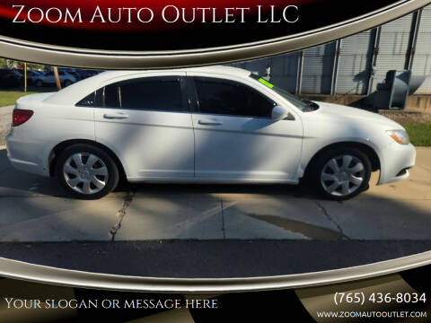 2012 Chrysler 200 for sale at Zoom Auto Outlet LLC in Thorntown IN