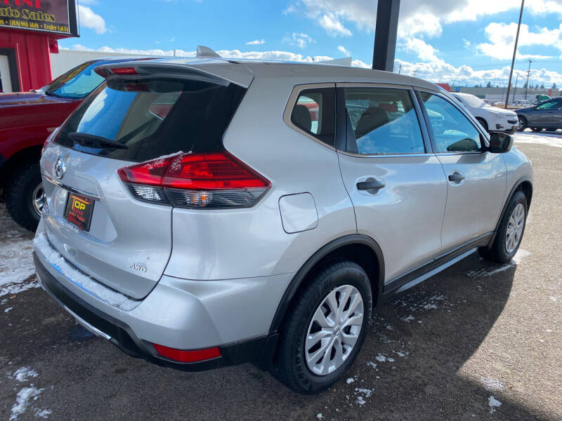 2017 Nissan Rogue AWD S 4dr Crossover (midyear release) - Idaho Falls ID