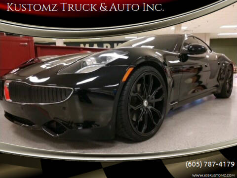 2012 Fisker Karma for sale at Kustomz Truck & Auto Inc. in Rapid City SD