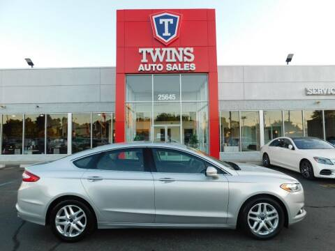 2016 Ford Fusion for sale at Twins Auto Sales Inc Redford 1 in Redford MI