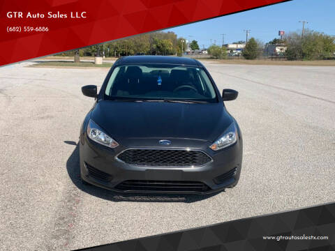 2017 Ford Focus for sale at GTR Auto Sales LLC in Haltom City TX