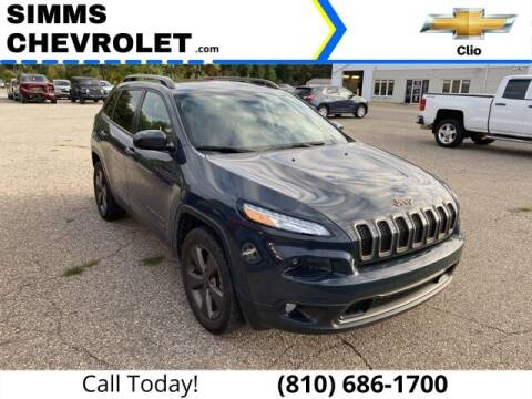 2017 Jeep Cherokee for sale at Aaron Adams @ Simms Chevrolet in Clio MI