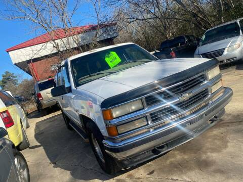 1999 Chevrolet Tahoe for sale at Copeland's Auto Sales in Union City GA