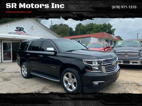 2015 Chevrolet Tahoe for sale at SR Motors Inc in Gainesville GA