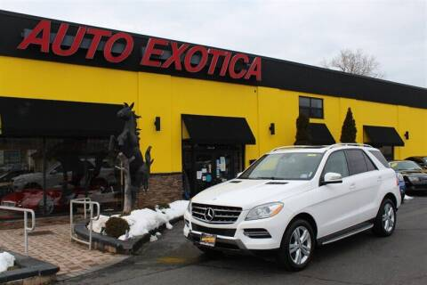 2014 Mercedes-Benz M-Class for sale at Auto Exotica in Red Bank NJ