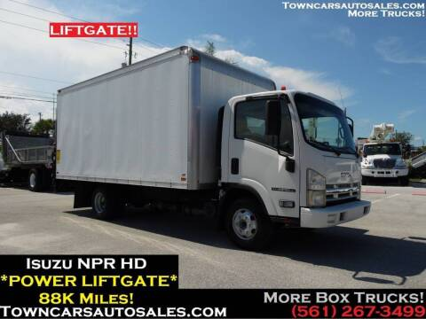 2010 Isuzu NPR-HD for sale at Town Cars Auto Sales in West Palm Beach FL