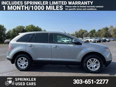 2007 Ford Edge for sale at Sprinkler Used Cars in Longmont CO