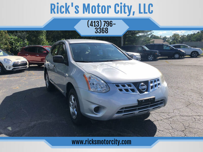 2013 Nissan Rogue for sale at Rick's Motor City, LLC in Springfield MA