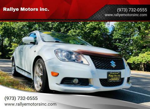2013 Suzuki Kizashi for sale at Rallye  Motors inc. in Newark NJ