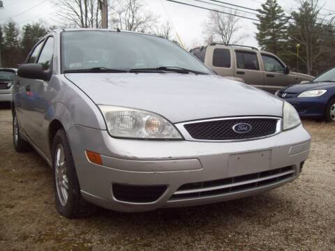 2007 Ford Focus for sale at Frank Coffey in Milford NH