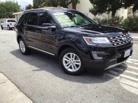 2017 Ford Explorer for sale at LA PLAYITA AUTO SALES INC - 3271 E. Firestone Blvd Lot in South Gate CA