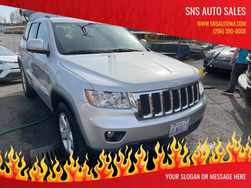 2011 Jeep Grand Cherokee for sale at SNS AUTO SALES in Seattle WA