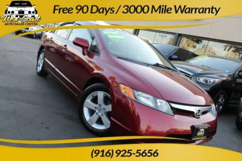 2007 Honda Civic for sale at West Coast Auto Sales Center in Sacramento CA