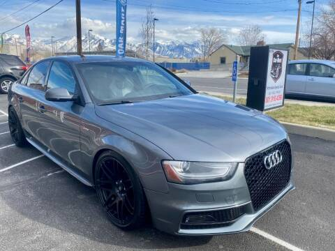2014 Audi S4 for sale at The Car-Mart in Murray UT