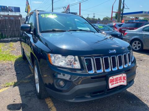 2011 Jeep Compass for sale at GRAND USED CARS  INC in Little Ferry NJ